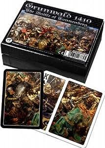 Piatnik - 2666 grunwald 1410 battle of the tannenberg cartes 2 x 55