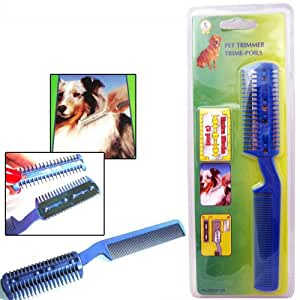 Symak Sales Inc Pet Dog Cat Hair Trimmer With Comb + 2 Razor Cutting Grooming Cut Care