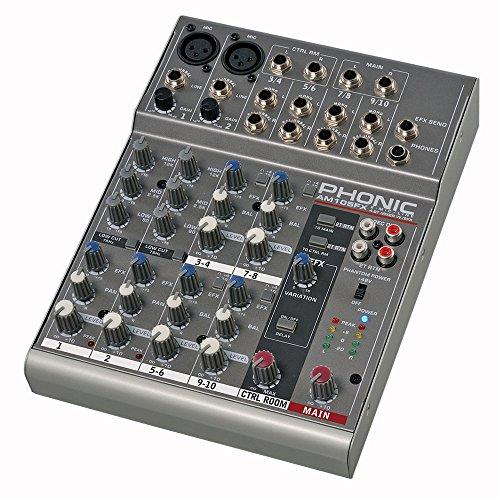 PHONIC AM105FX - Mixer Passivo 6 Canali Con Effetti,, usato usato  Spedito ovunque in Italia