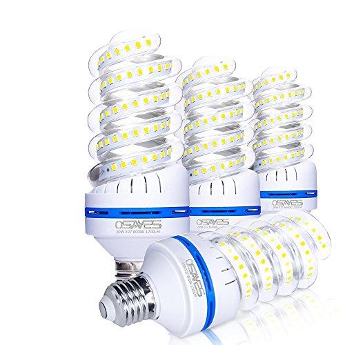 OSAYES 20W Lampadina LED E27 Luce Fredda, 20 W Lampade equivalenti a...