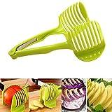 Apple/pomodoro/Pera 2 pezzi Cutters robusto mantiene frutta/verdura in atto mantiene anche le frese organizzate facile veloce