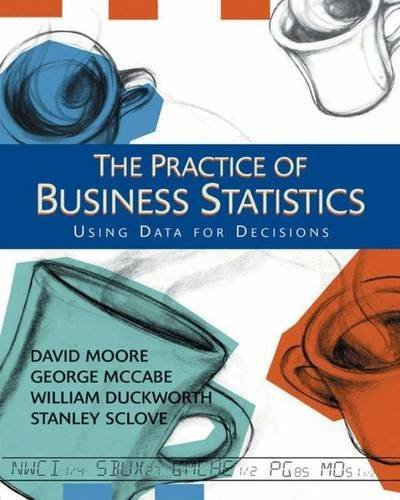 The Practice of Business Statistics: Using Data for Decisions by David S. Moore (2002-12-01)