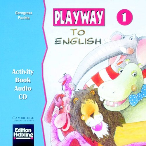 Playway to English 1 Activity book audio CD