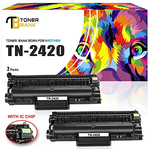 MIT CHIP-Toner Bank kompatibel für TN-2420 TN-2410 TN2420 Toner für Brother MFC-L2710DN HL-L2350DW MFC-L2710DW HL-L2310D HL-L2357DW HL-L2370DN DCP-L2530DW DCP-L2537DW MFC-L2730DW MFC-L2750DW