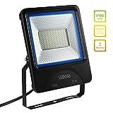LEDGLE 60W LED-Flut-Lichter, Flutlicht-imprägniern LED-Wand-Waschmaschine im Freien, 4800 Lumen gleich Halogen-Lampen 500W, IP66 Waterproof- 6000K