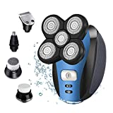 Electric Shaver Razor for Men Bald Head Shaver 5 in 1 Grooming Kit
