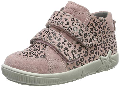 Superfit Baby Mädchen Starlight Sneaker, Pink (Rosa 55), 21 EU