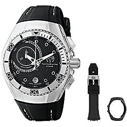 TechnoMarine 114031 - Reloj de cuarzo unisex, color negro