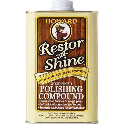 Howard RS0016473ml/16oz restor-a-shine Holz Polieren Compound -