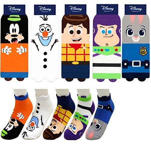 Buzz Lightyear Socken - Disney Animation Charakter Knöchel Socken mit