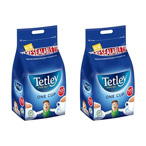 Tetley 1100 One Cup Tea Bags 2.5kg Case of 2