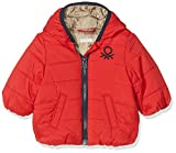 United Colors of Benetton Baby-Mädchen Jacke Jacket, Rot (Red 21L), 56