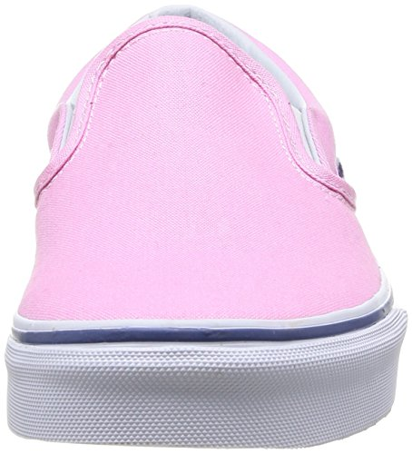 Vans U Classic Slip-on, Baskets mode mixte adulte Rose (Prism Pink/True White)