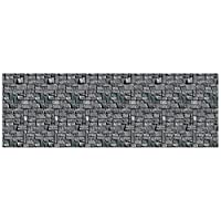 A Beistle Creation Stone Wall Backdrop Party Accessory (1 count) (1/Pkg)