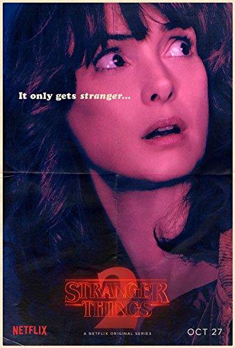 "Stranger Things ""Joyce"" Winona Ryder Poster 70x45"