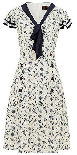 Voodoo Vixen Kleid MAE DRESS 8149 Beige S