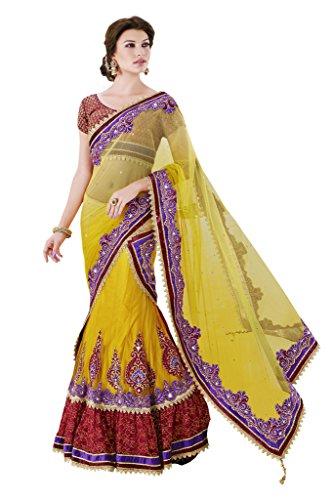 Mahotsav Women's Net , Satin Art Silk One Minute Sarees ( 3208 )  available at amazon for Rs.2220