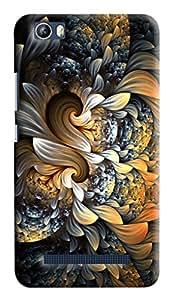 GADGETMATE Xolo Era 4K Printed Back Cover(For Xolo Era 4K )