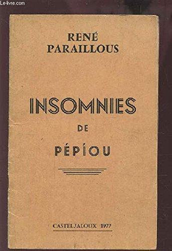INSOMNIES DE PEPIOU.