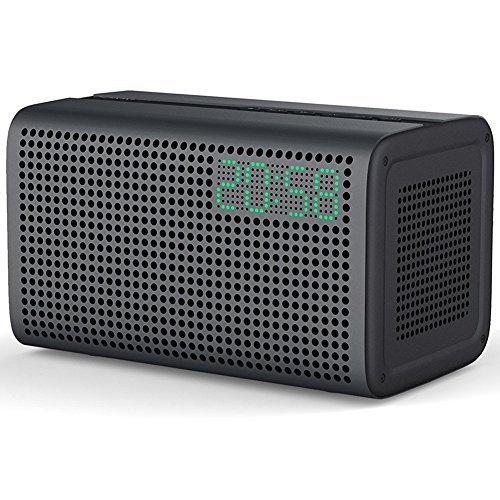 Altavoces Bluetooth WiFi 20W con Amazon Alexa Voz Control Sonido Estéreo Smart Speaker con AUX Cable Inteligente Altavoz Spotify iTunes