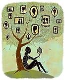 Feeling at home, impression artistique x Cadre-Cadre, fine art print, arbre généalogique cm 46x 38