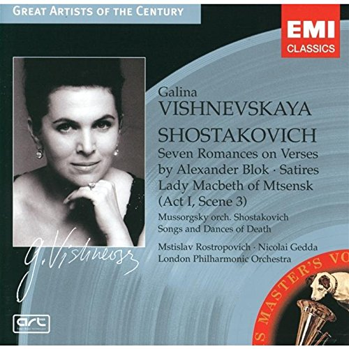 Chostakovitch - Lady Macbeth of Mzensk (extr.) / Sept poèmes d'Alexandre Blok ...(Coll. Great Artists Of The Century)
