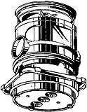 Kaiser–DERIVATION Deckenleuchte Schmuckkasten Ausgang Durchmesser 60mm