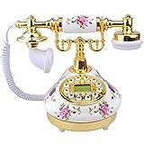 Zimo® Retro Design Vintage analog Telefon Nostalgie Telefon Innendekoration
