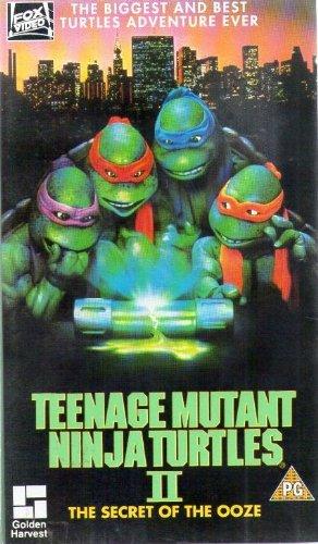 Teenage Mutant Ninja Turt.2 [VHS] [UK (Ninja Turt Teenage Mutant)