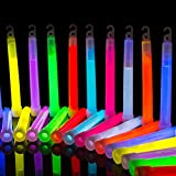Premium Glowhouse Glow Sticks - 50 x 6""