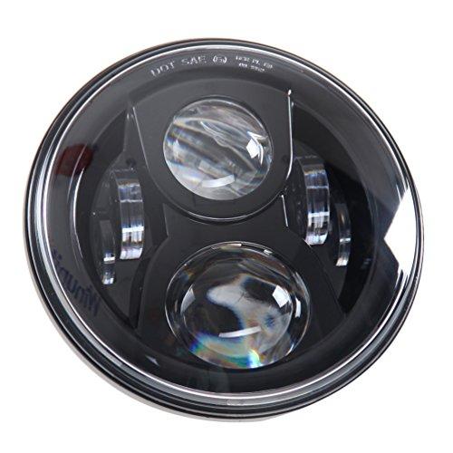 """Preisvergleich Produktbild 7 """"LED-Scheinwerfer für Harley Davidson-Motorrad-Projektor Daymaker HID LED-Glühlampe-Scheinwerfer-Schwarz"""