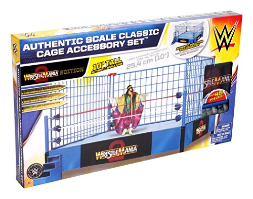 wwe-steel-cage-match-accessory-set-classic-wrestle-mania-version