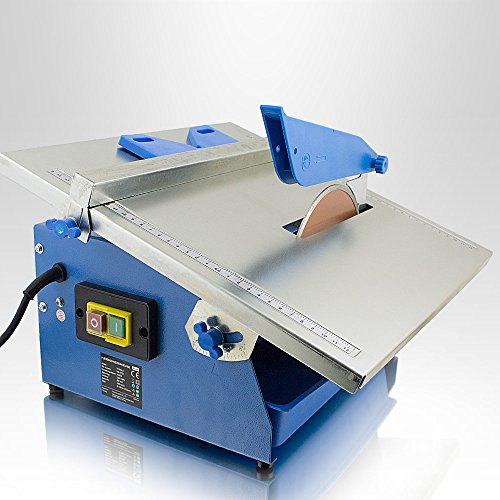 BITUXX® Elektrische Fliesenschneidmaschine 800 Watt Nass Fliesenschneider elektrisch inkl. Diamantscheibe, 180 mm