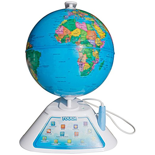 Oregon Scientific Smart Globe Discovery SG268 Juguete educativo globo interactivo