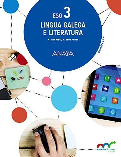 Lingua Galega e Literatura 3. (Aprender é crecer en conexión) - 9788467853322 por Celia Díaz Núñez
