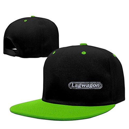 xcarmen Album Blaze Punk Rock Lagwagon Printed snapback Hats Kelly Green