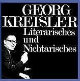Songtexte von Georg Kreisler - Literarisches und Nichtarisches