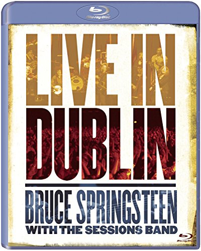 Preisvergleich Produktbild Bruce Springsteen with the Sessions Band - Live in Dublin [Blu-ray]