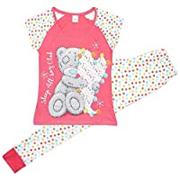 Get Wivvit Womens Me to You Tatty Teddy Bear Sleep All Day Club Pyjamas Plus Sizes from 8 to 22