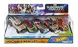 Mattel Hot Wheels dxm19–Marvel Character Car Véhicules Pack de 5Guardians of the Galaxy, 1: 64, autoroutes/Accessoires