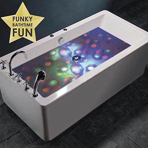 discokugel f r die badewanne. Black Bedroom Furniture Sets. Home Design Ideas