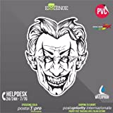 [ERREINGE] STICKER 35cm - The Joker Batman - Autocollant Decal Transfer Vinyle Muraux Laptop Voiture Moto Casque Scooter Camper...