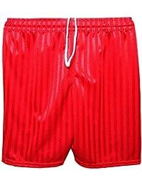 2509ba709 MyShoeStore Unisex PE Shorts Boys Girls Kids Children Adults Back to School  Uniform Shadow Stripe Sports