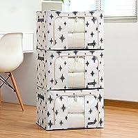 Aggiornamento Storage Box Oxford Cloth Storage Box Abbigliamento trapunta finitura box di grandi dimensioni 66 litri 3 Equipaggiata Storage Box ( colore : 14 )