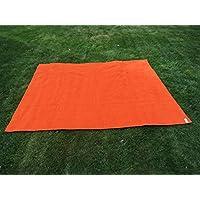 Toalla manta NARANJA 150x200cm , 100%algodón, 460gr/m2, fabricada en Portugal.