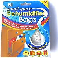 12 x 2pk Small Space Dehumidifier 24 sachets