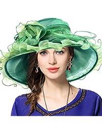 Mujeres Lglesia Derby Vestido Fascinator Gorro Nupcial Fiesta Boda Sombrero fd2dd31ae623