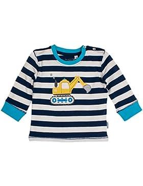 SALT AND PEPPER Baby-Jungen Langarmshirt B Longsleeve Cars Stripe Ocs