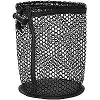 Seacanl Bolsas de Bolas de Malla de Nailon Negro Duradero de 4,7 x 5,5 Pulgadas, Bolsa de Bolas, para Llevar Bolas de Entrenamiento, Almacenamiento de Bolas