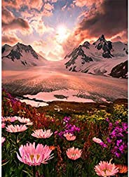 5D Diamond Painting Kits for Adults Full Drill Diamond Art for Home Decor Gifts Arts and Crafts- 12x16 inches(